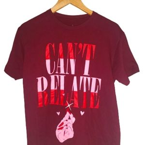 Jeffree Star CANT RELATE Valentines Exclusiv Shirt